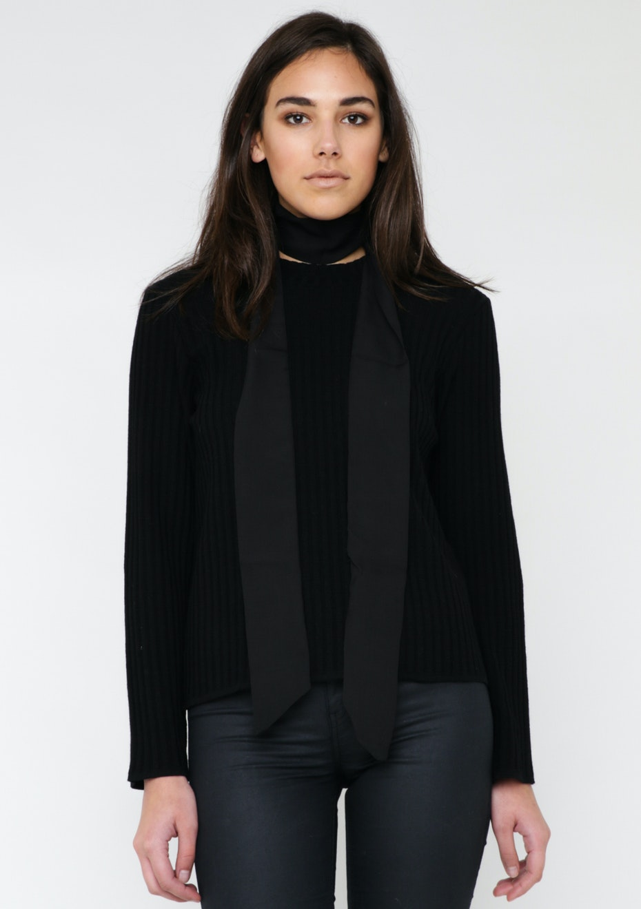 Tie Scarf - Black