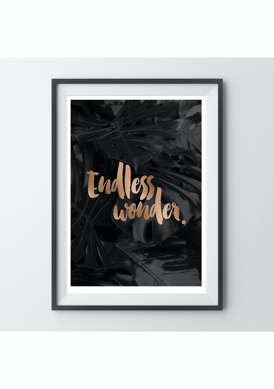 Simply Creative - Endless Wonder - A4 Copper Foil Print