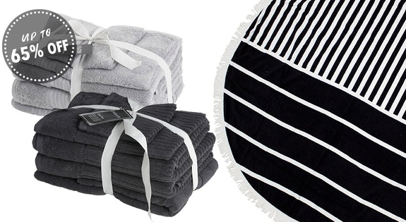 Sheraton Luxury Towels 5 Pack from $59