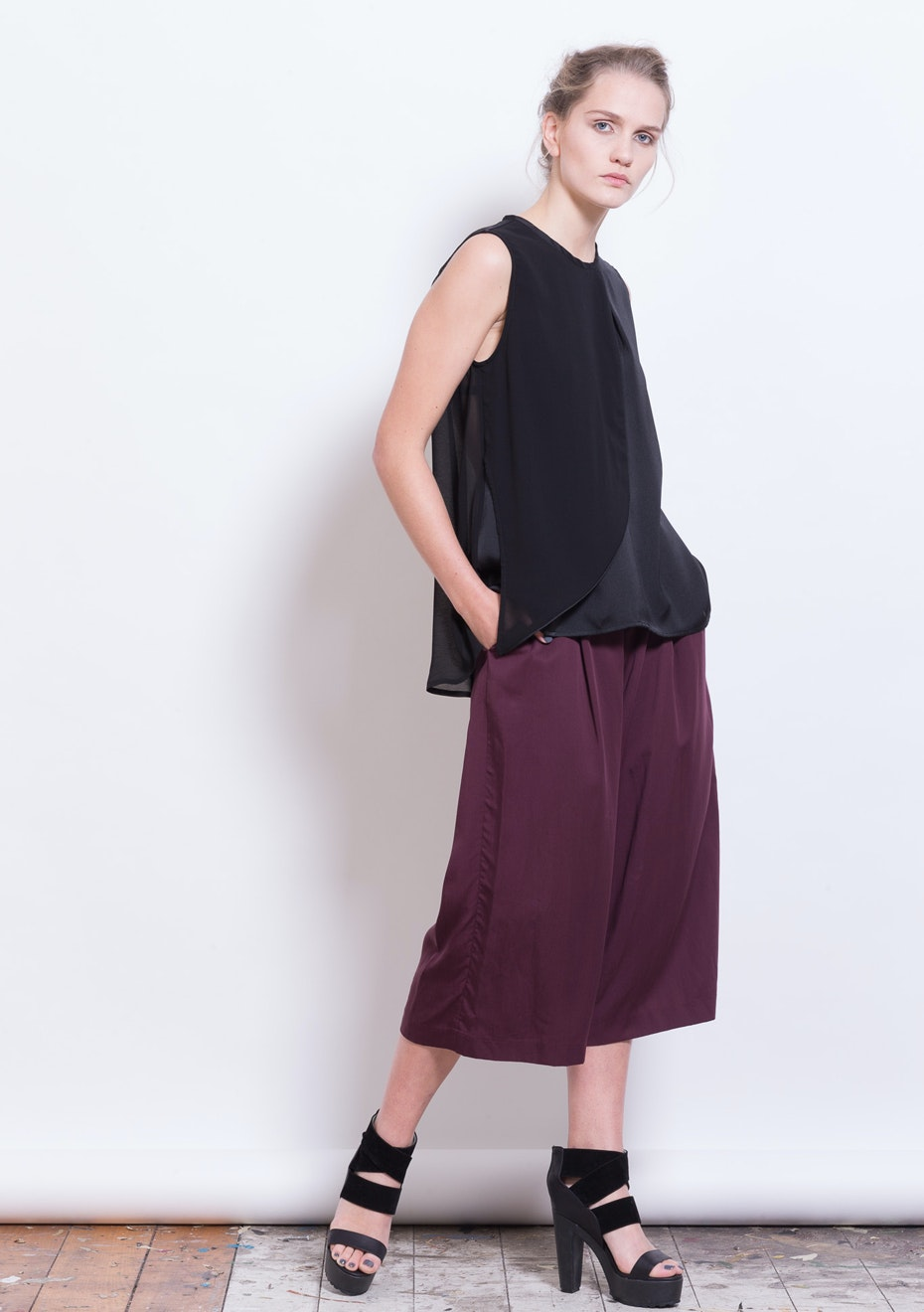 X-Plain - Gala's Top - Black