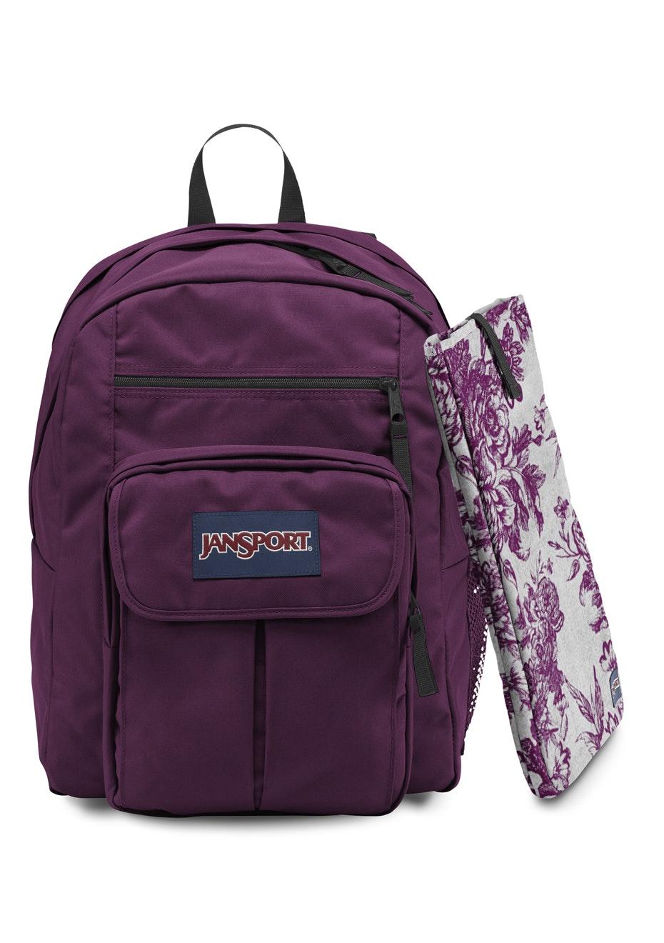 JanSport - DIGITAL STUDENT T19W Berrylicious Purple 34L