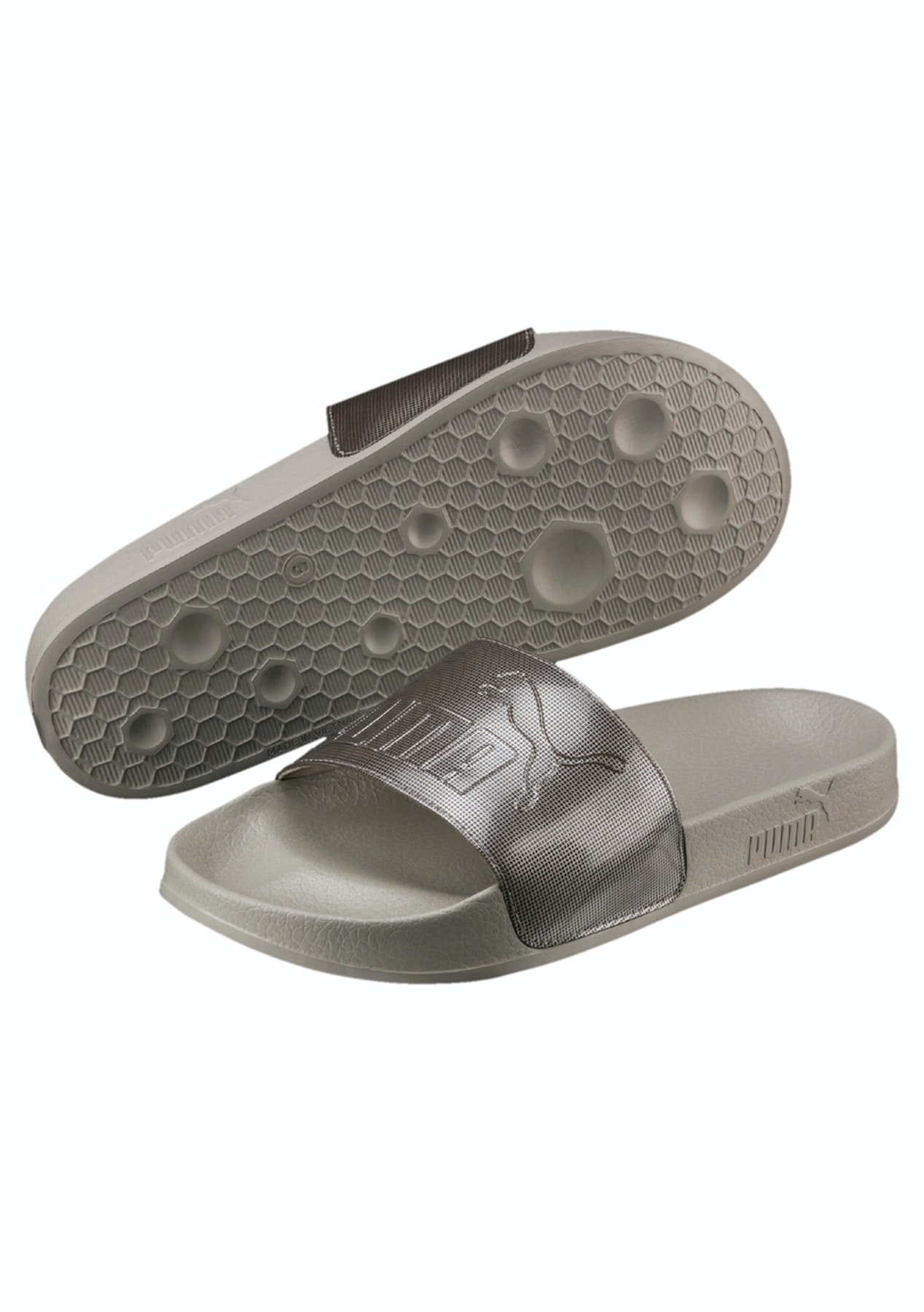 1cabe0be9fbd Puma Womens - Leadcat Ep Q2 Slide - Rock Ridge - Summer Slides and Sandals  - Onceit