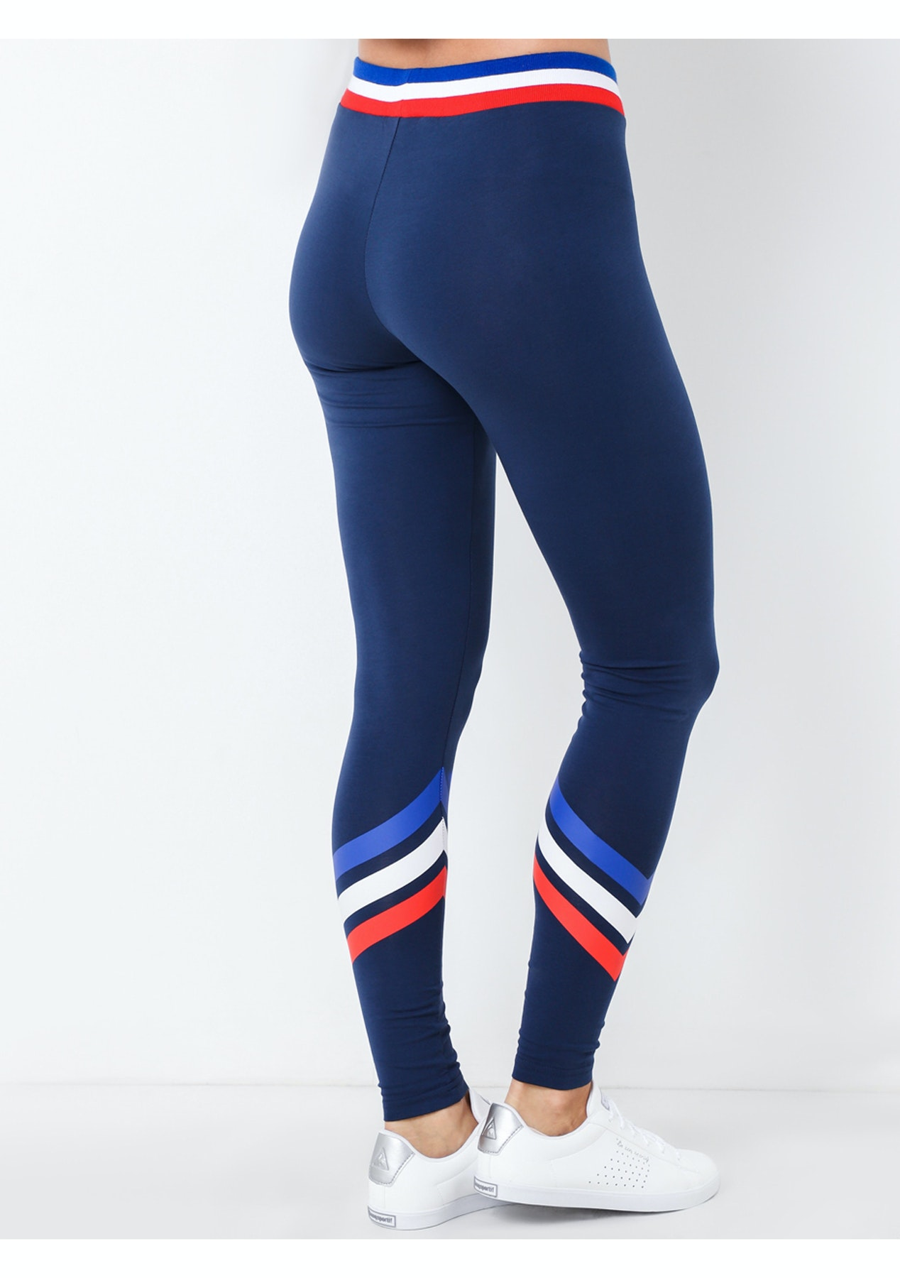 cbea634657f4 Le Coq Sportif - Womens Amie Legging - Dress Blues - The Streetwear Edit -  Onceit