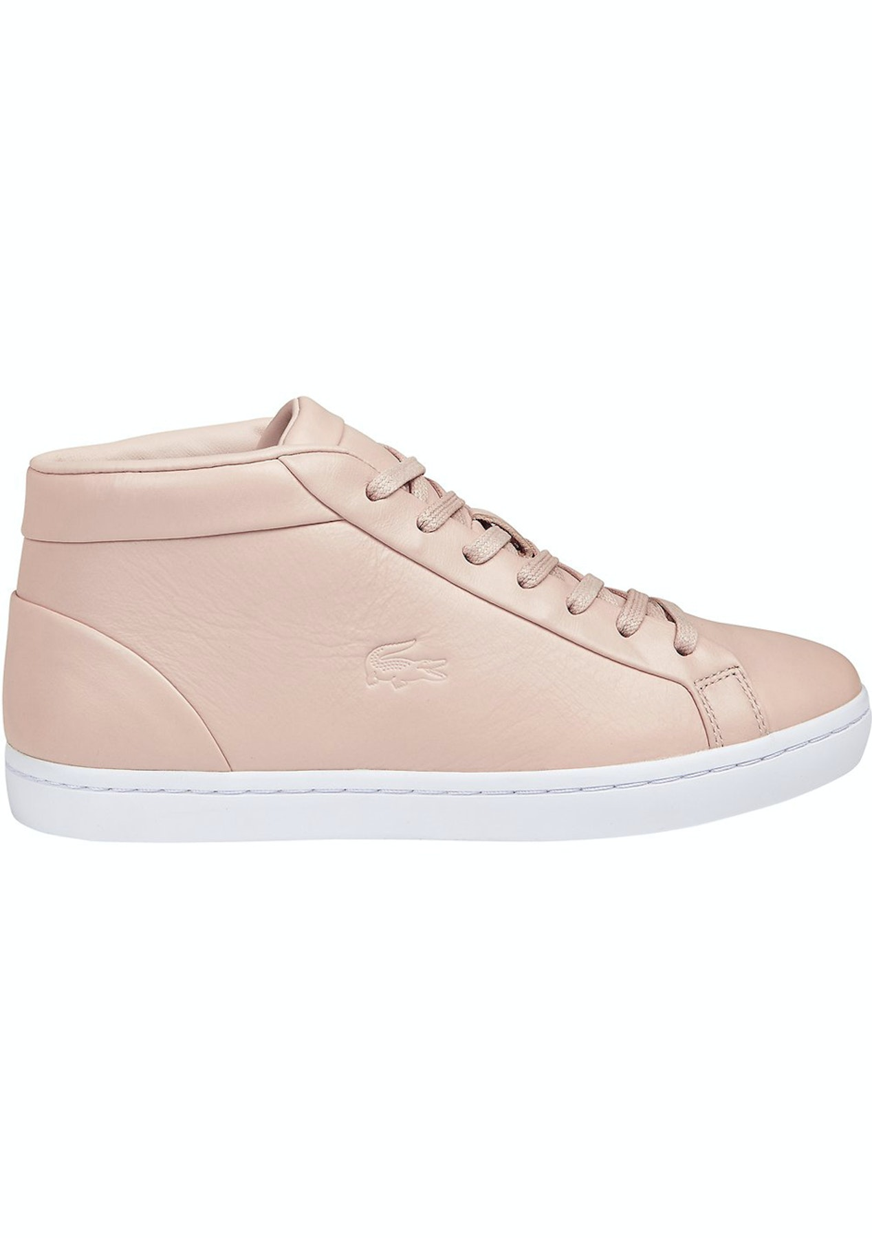 a06776fbd Womens Lacoste - Straightset Chukka 316 1 - Light Pink - Lacoste Garage  Sale - Onceit
