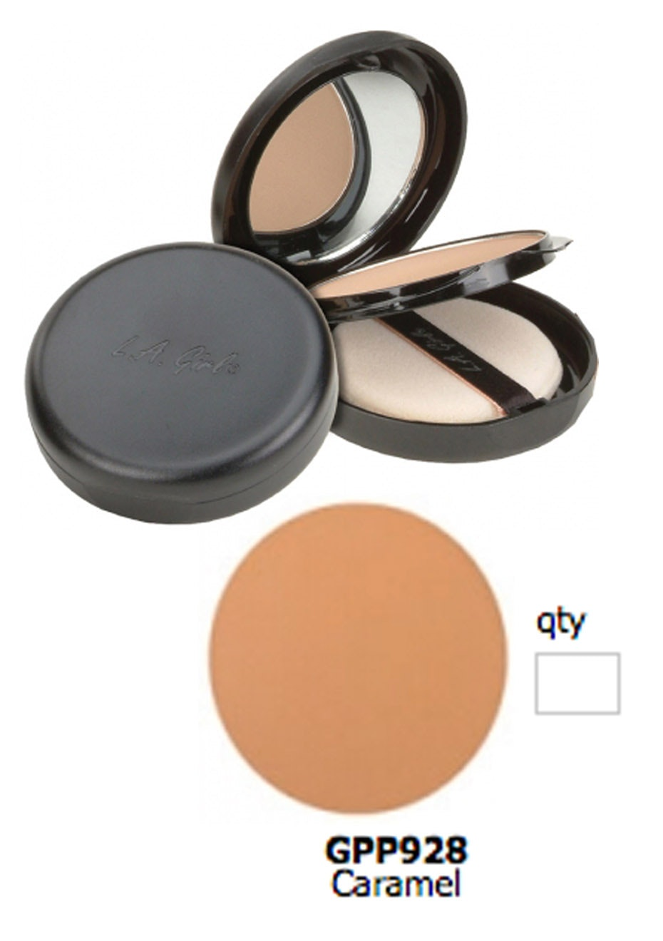 LA Girl Ultimate Pressed Powder - Caramel