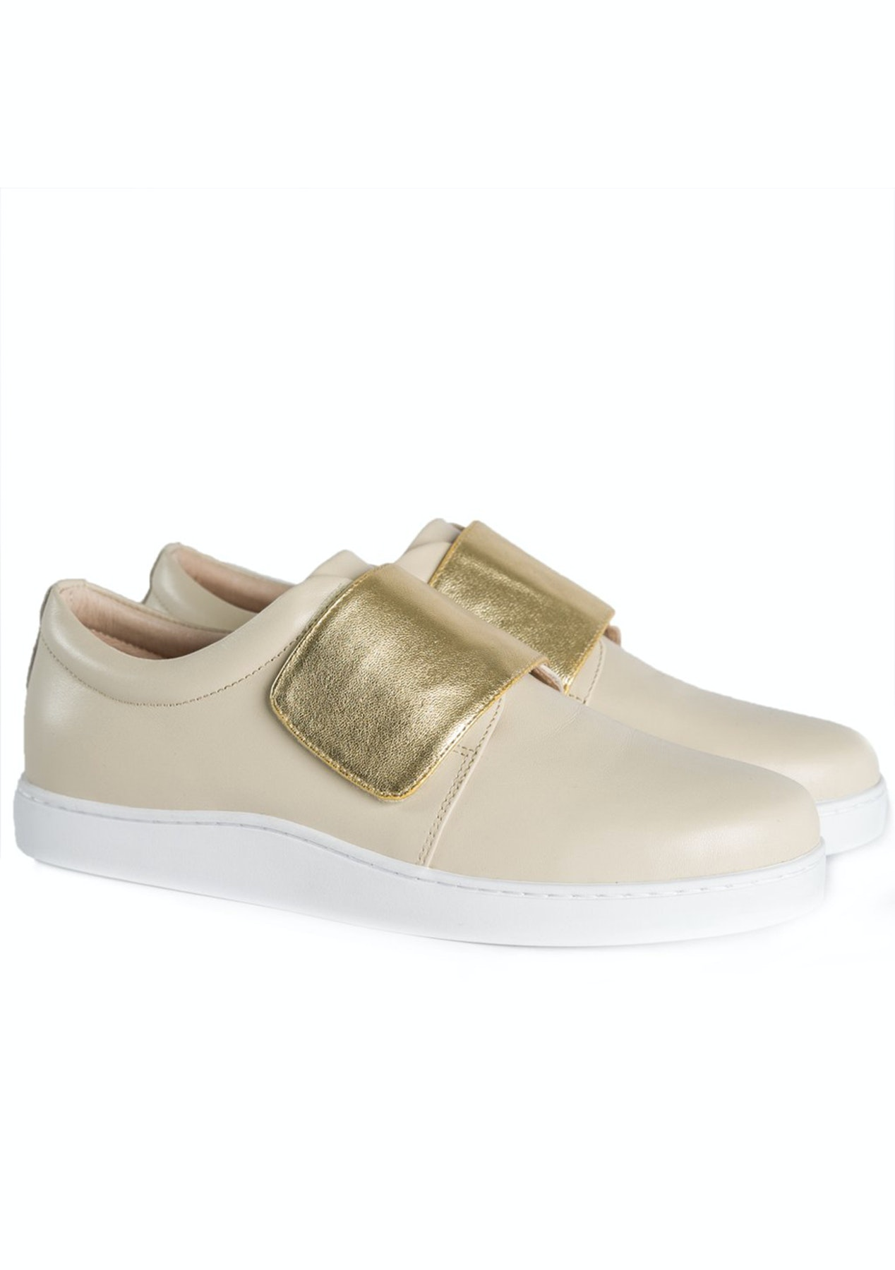 79d8b8e656b580 Julian Danger - Fox Sneaker - Chalk   Gold - Designer Outlet - Onceit