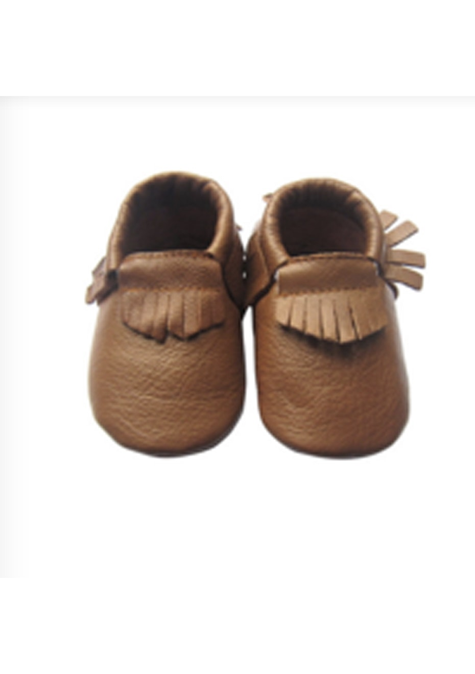 Baby  Leather Shoes - Light Brown