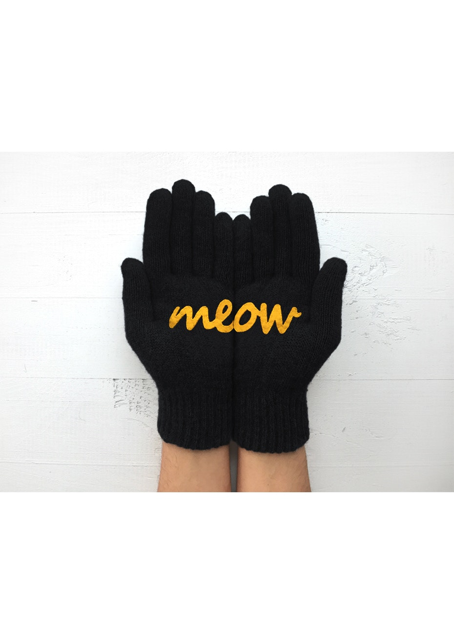 Meow Gloves - Black