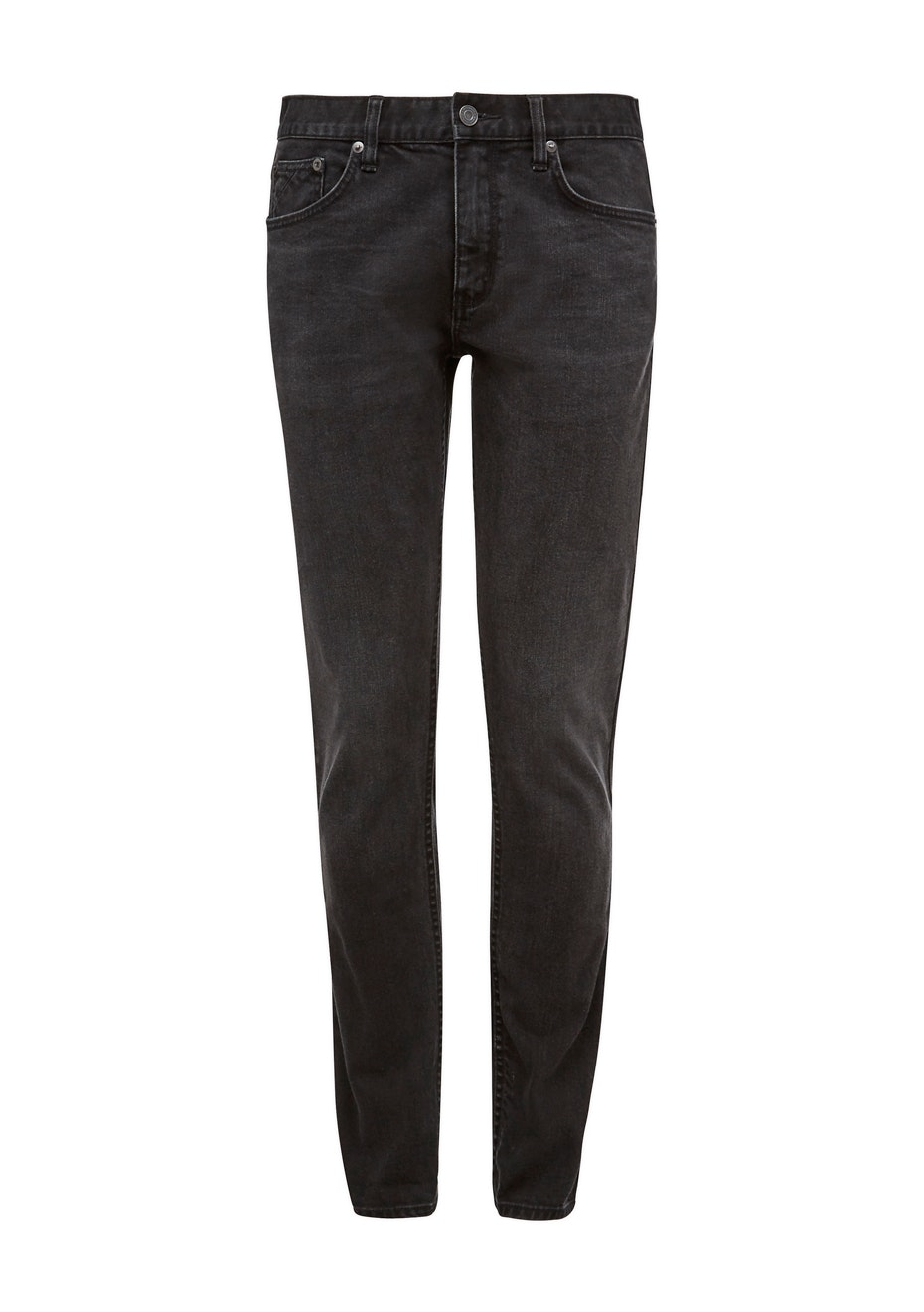 French Connection - Camden Slim Washed Charcoal Je - Washed Charcoal