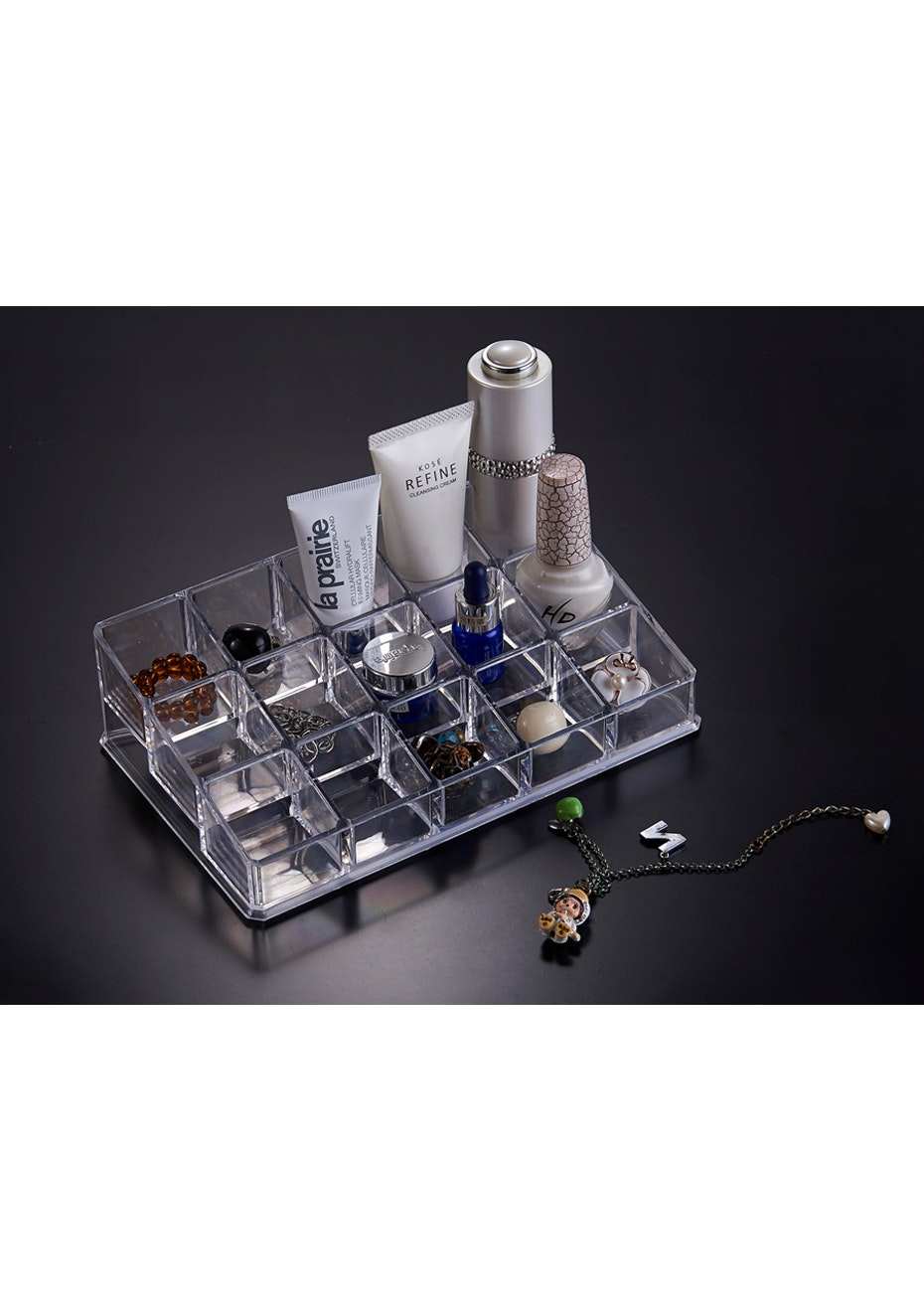 Cosmetic Organizer - 15 Nail Polish Holder