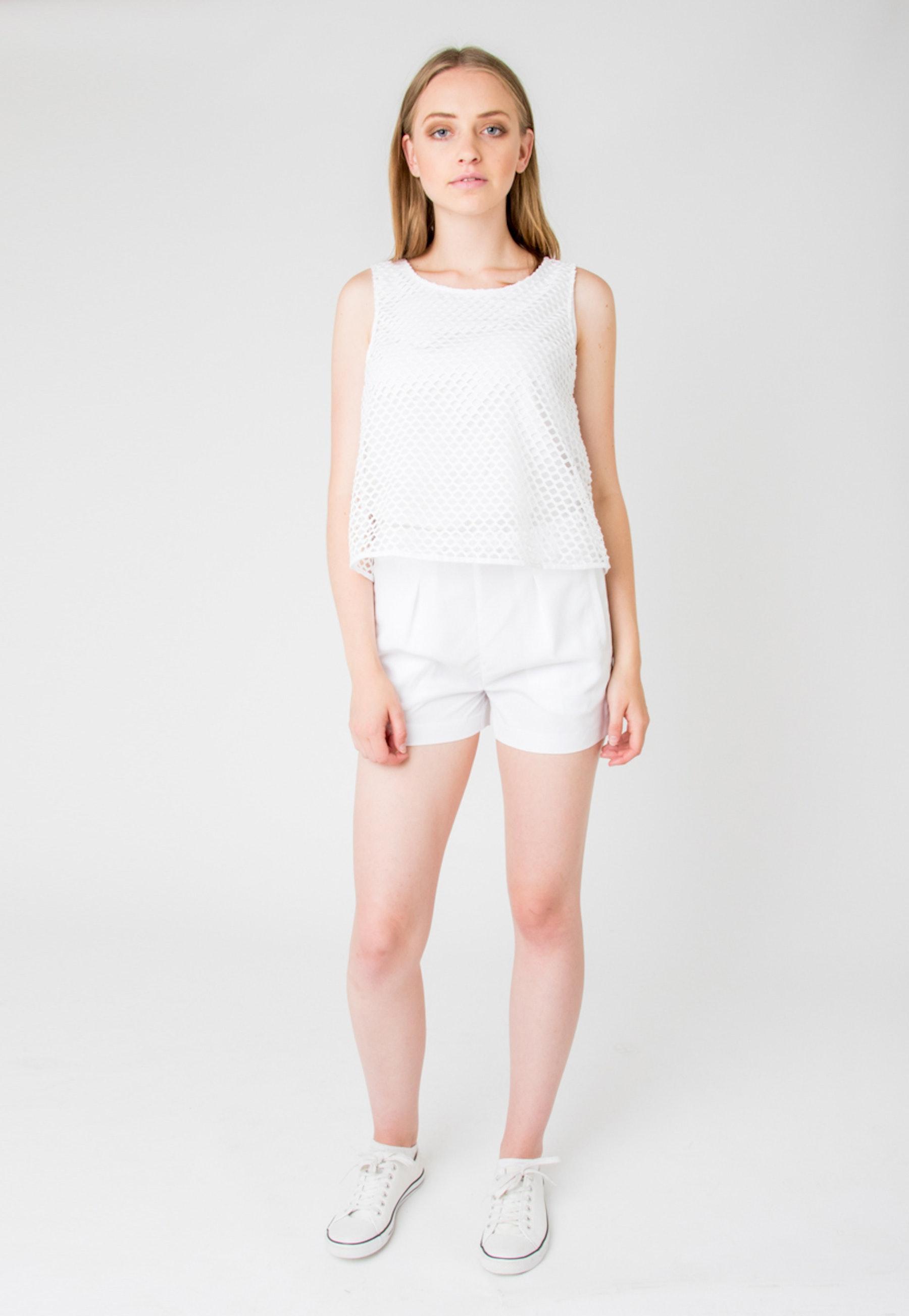 Calvin Klein Women Crewneck Sleeveless Jumpsuit 112 Ckjw Drs