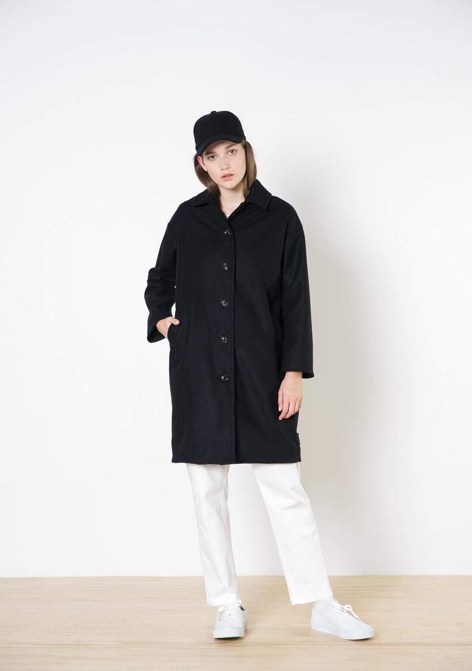 Twenty-Seven Names - Portrait Coat - Black