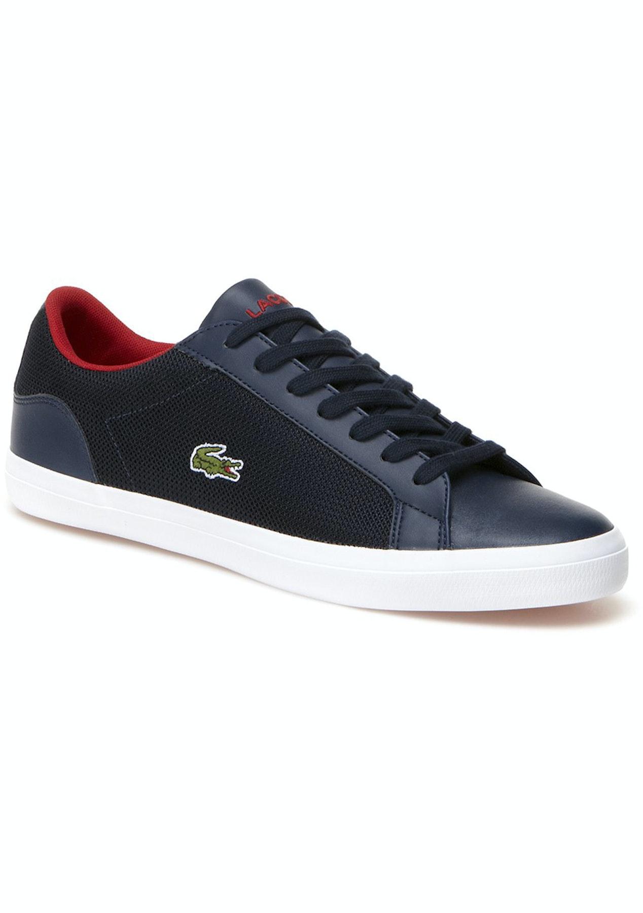 3066bd546119a8 Mens Lacoste - Lerond 116 1 Spm - Navy - Mens Shoe Sale - Onceit pretty ...