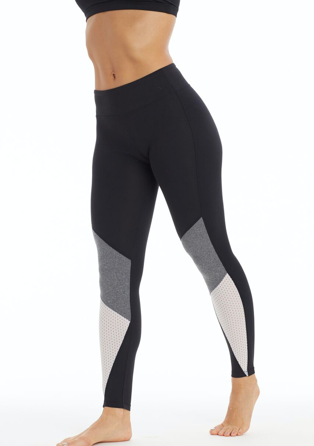 6f26f3d607143 Balance Collection by Marika - Malibu Legging - Black/ H. Charc - All New  Activewear: Nothing Over $40 - Onceit