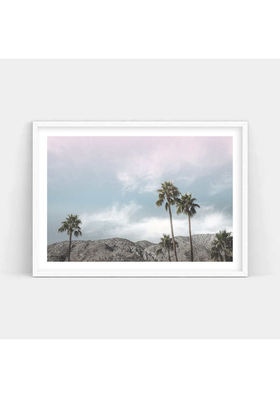 Simply Creative - Palms - A2 Colour Print