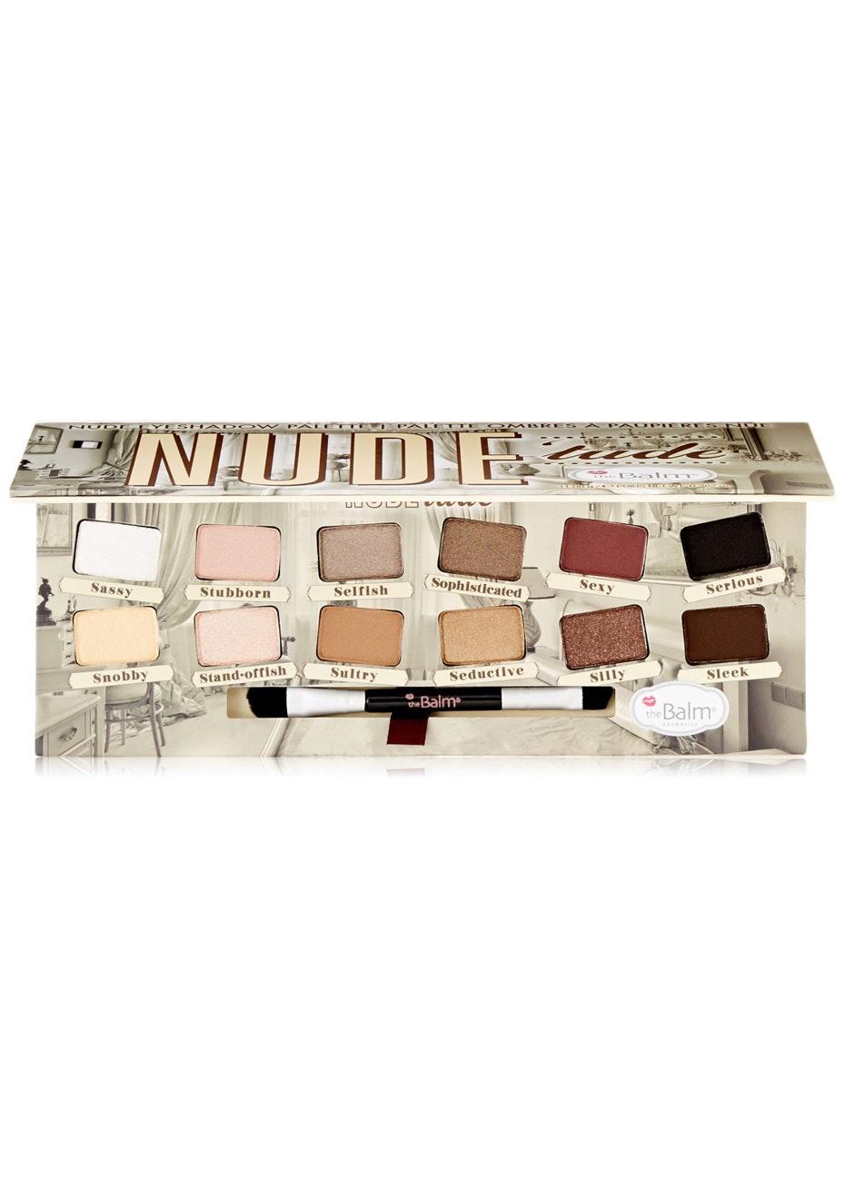theBalm NudeTude Nude Eyeshadow Palette