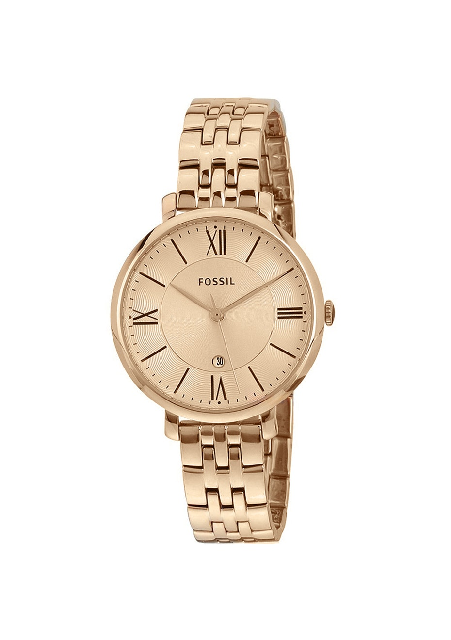 Fossil Women's Jacqueline - Rose Gold/Rose Gold