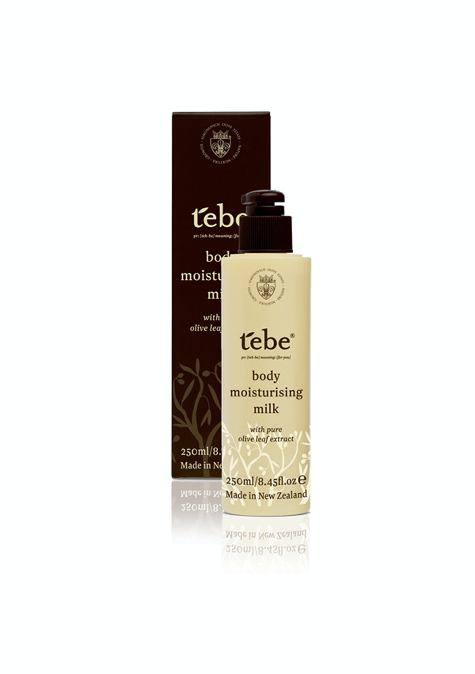 Tebe Body Moisturising Milk
