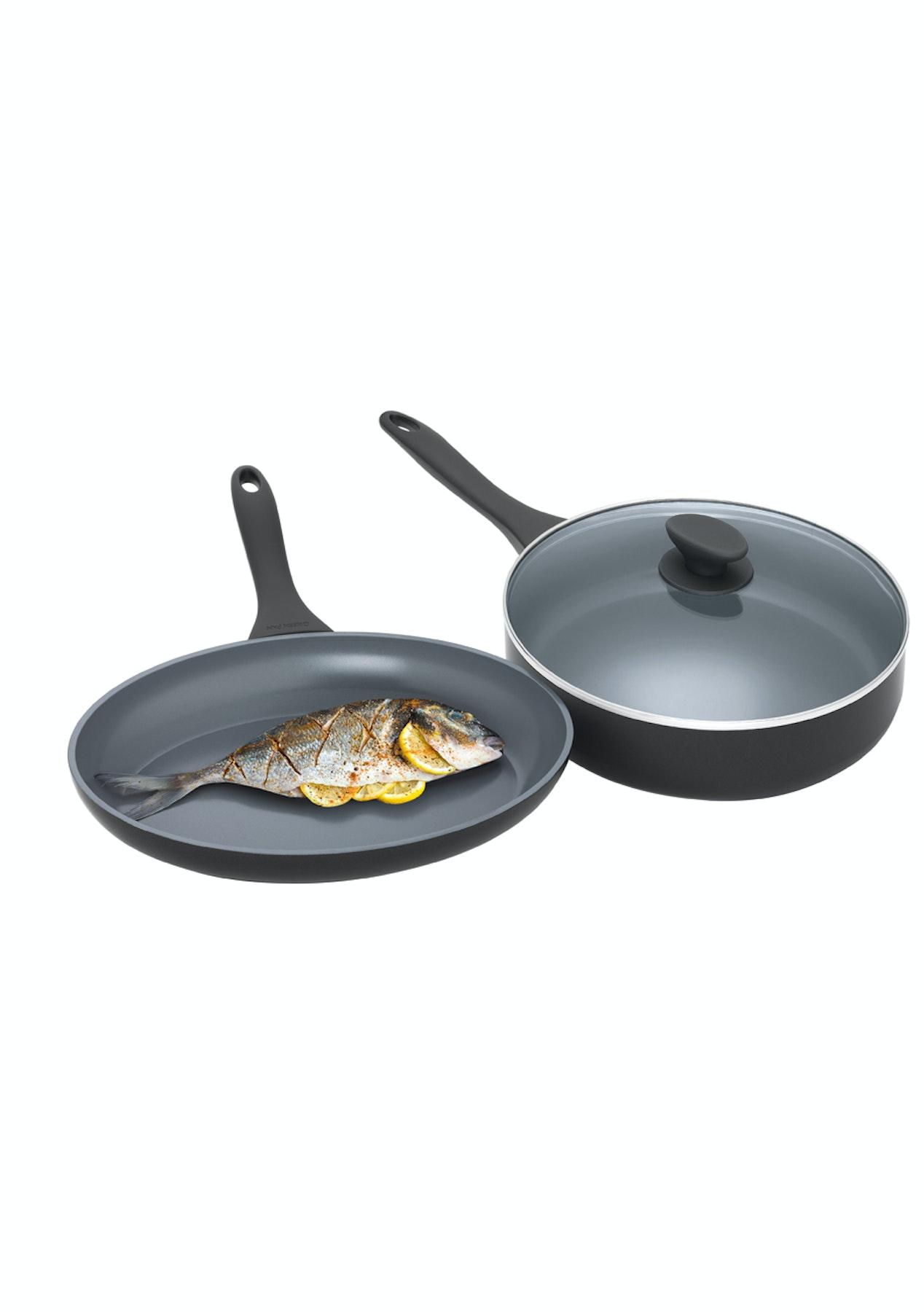 Greenpan Kyoto 33X23Cm Oval Fish Pan