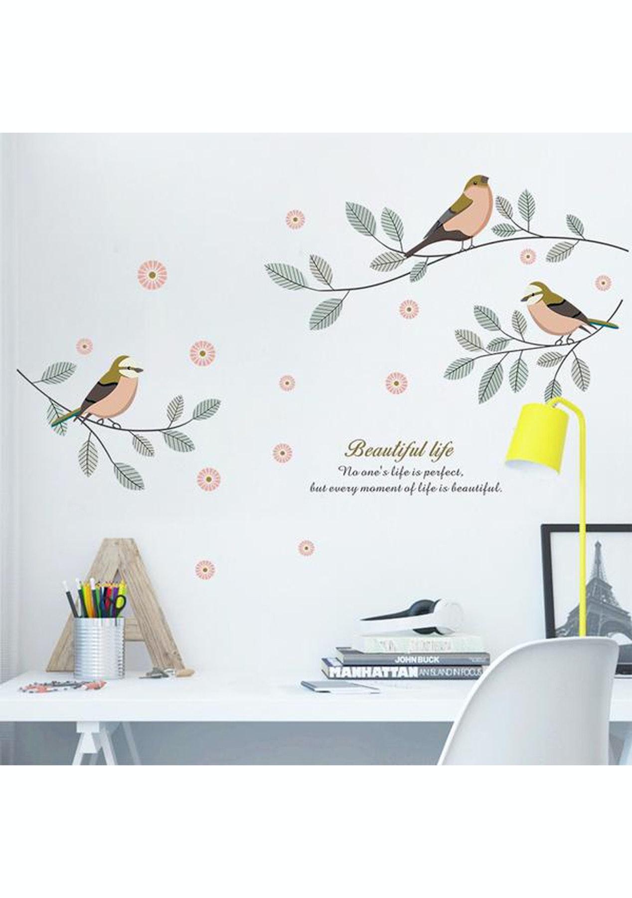 Mini Me Birds Diy Wall Decals
