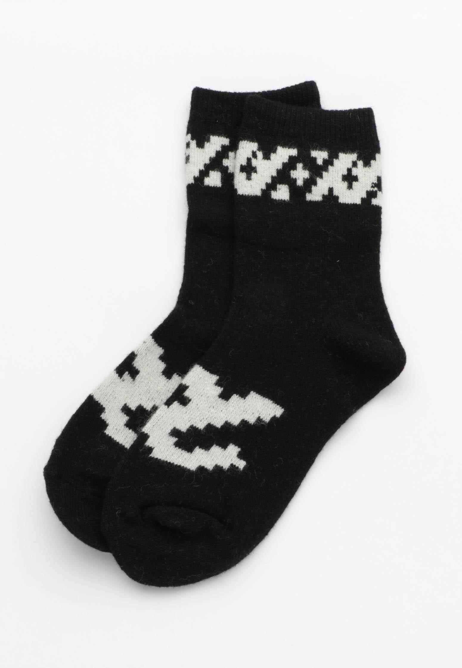 Print Socks - Black