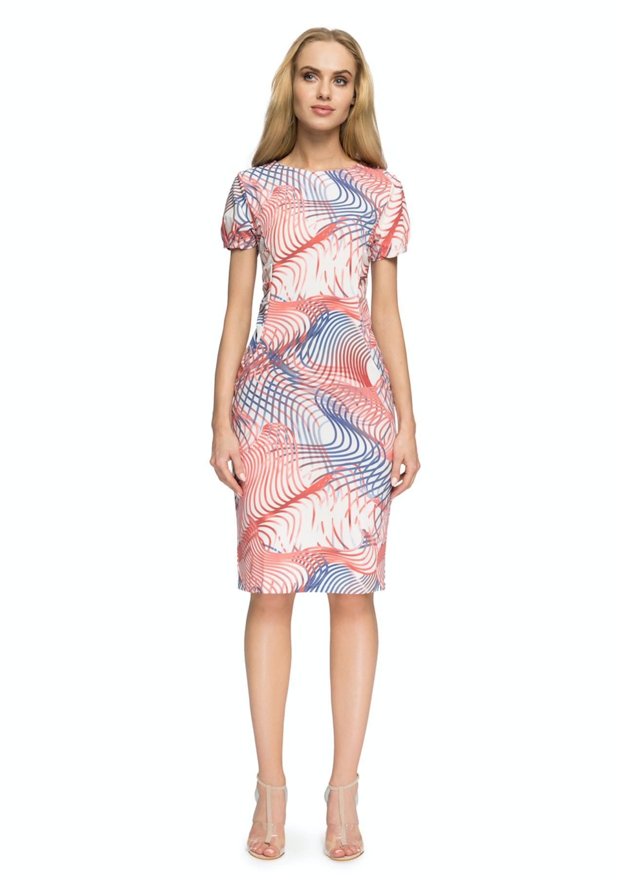 0546d354e4d Stylove - Woven Dress - Model 2 (Stripes