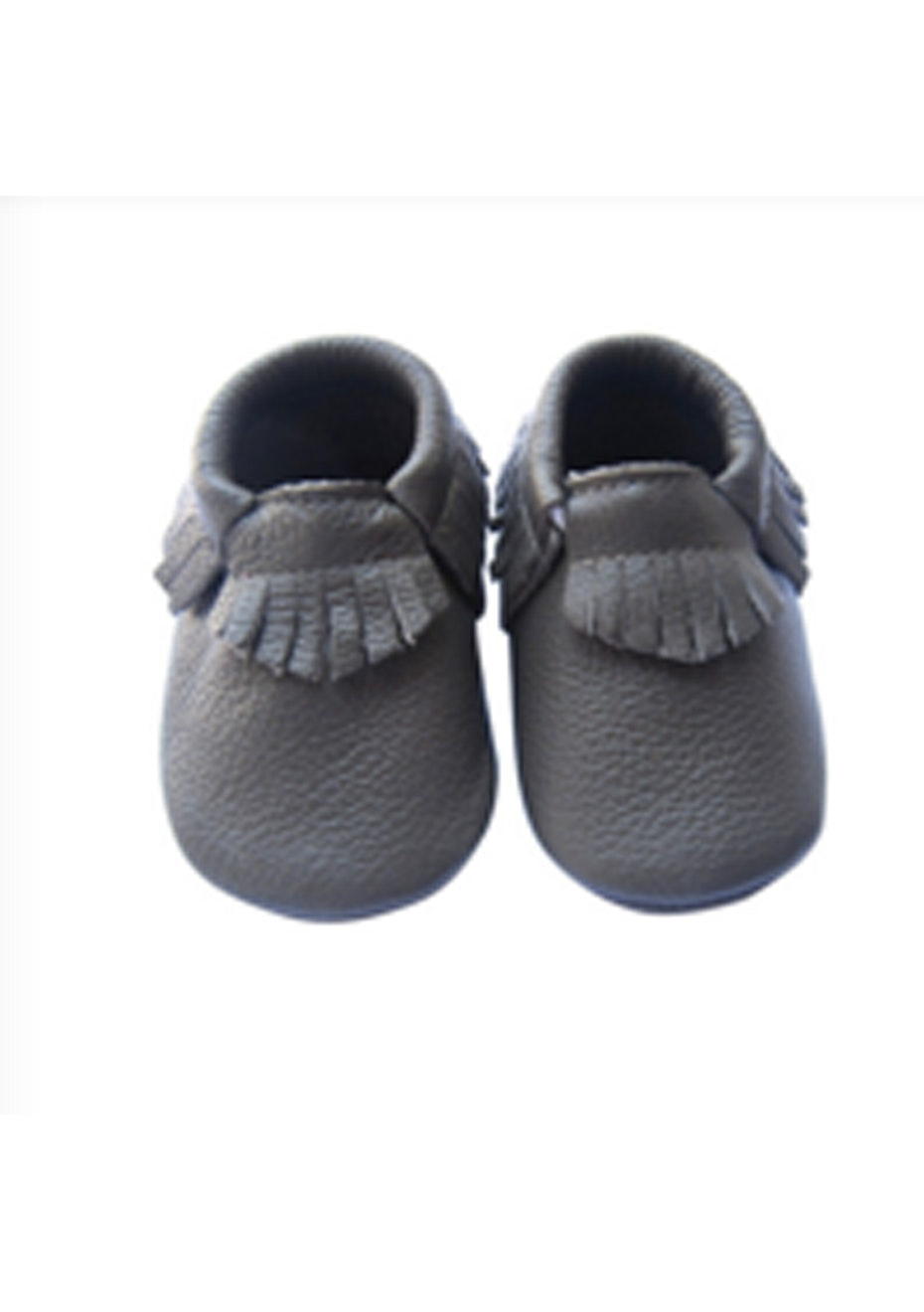 Baby  Leather Shoes - State Grey