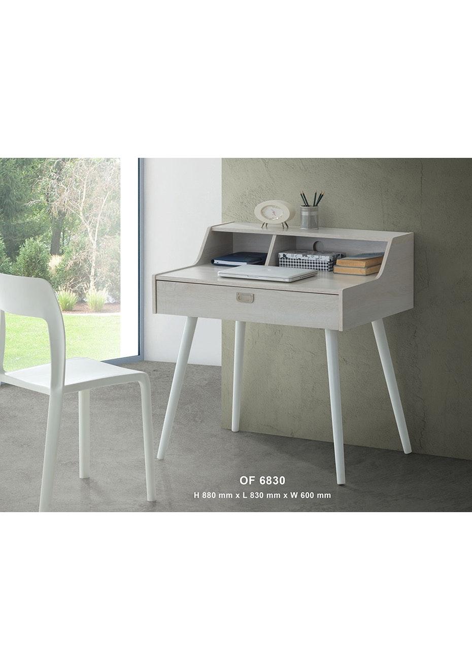 Study Desk - Washed Wood