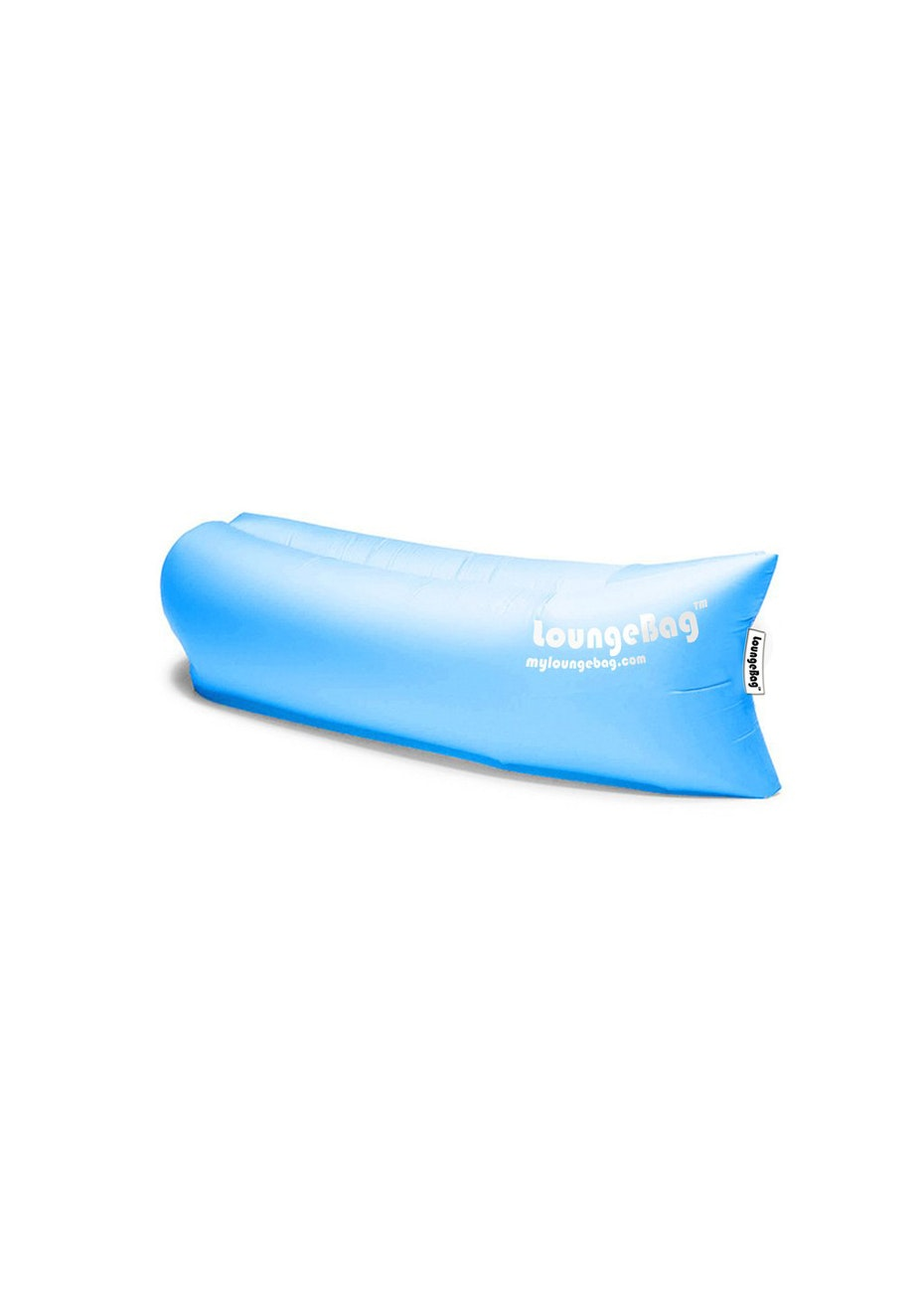 Brilliant Inflatable Loungebag - No Pump Needed - Blue