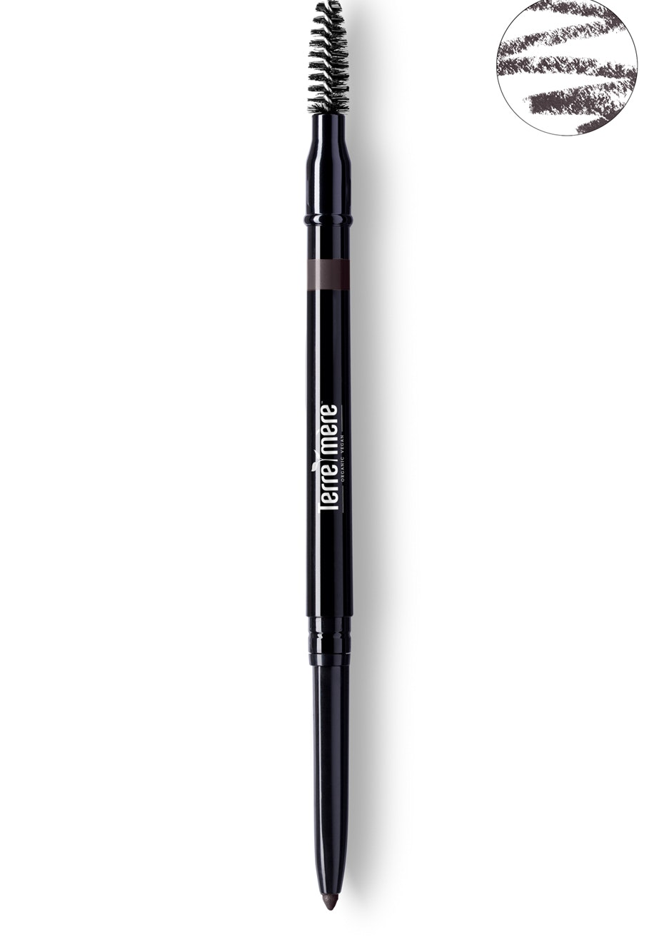 Terre Mere - Indelible Brow Pencil - Black Coffee