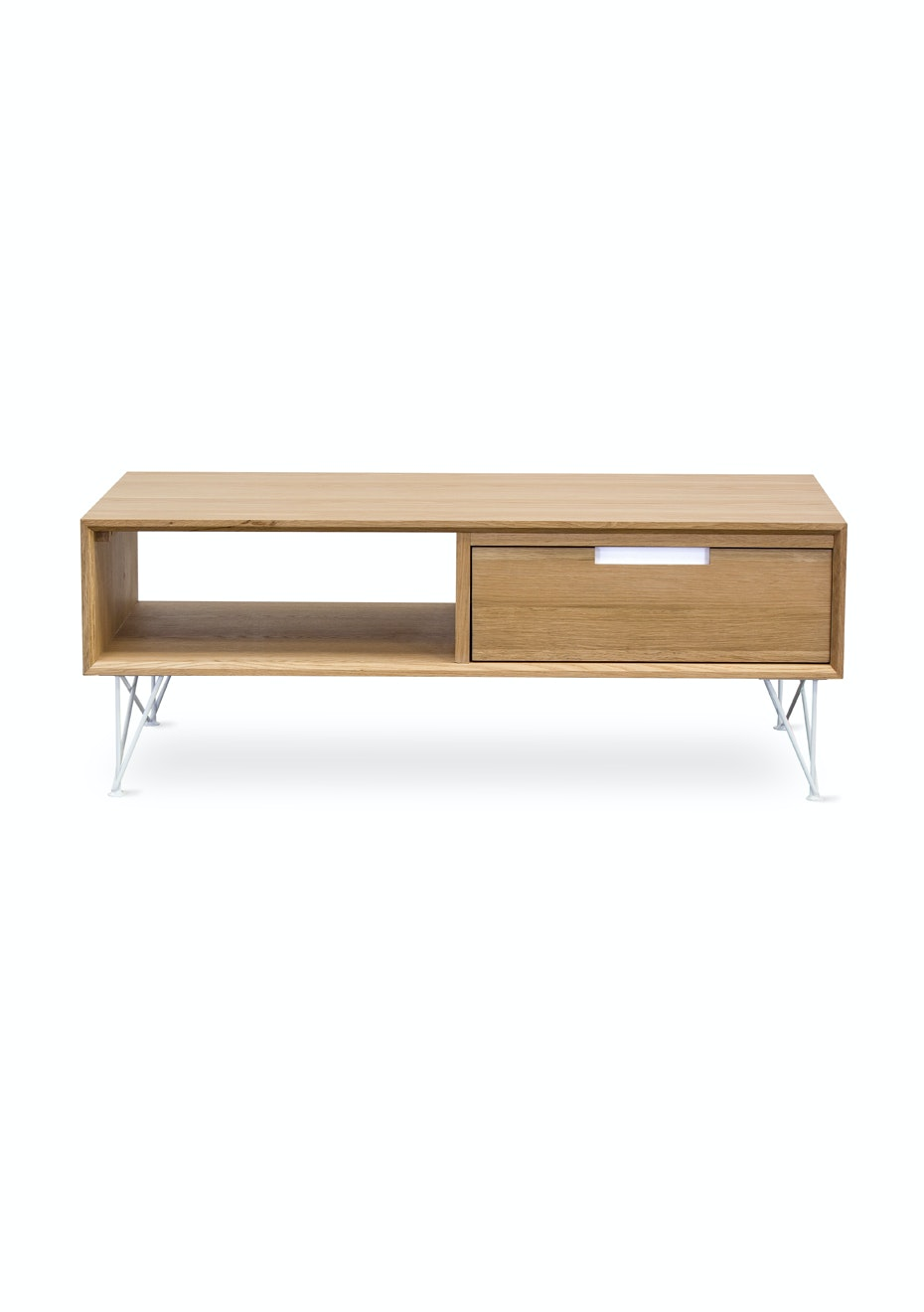 Furniture By Design - Pietement Coffee Table- White and Oak