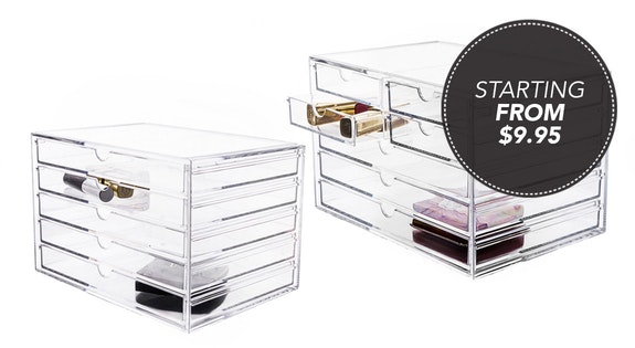 Image of the 'Pre Sale Perspex Cosmetic Organisers' sale