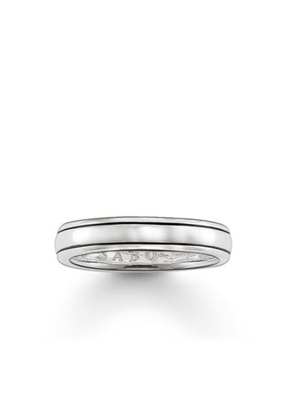 Thomas Sabo  - Twin Line Oxidised Ring