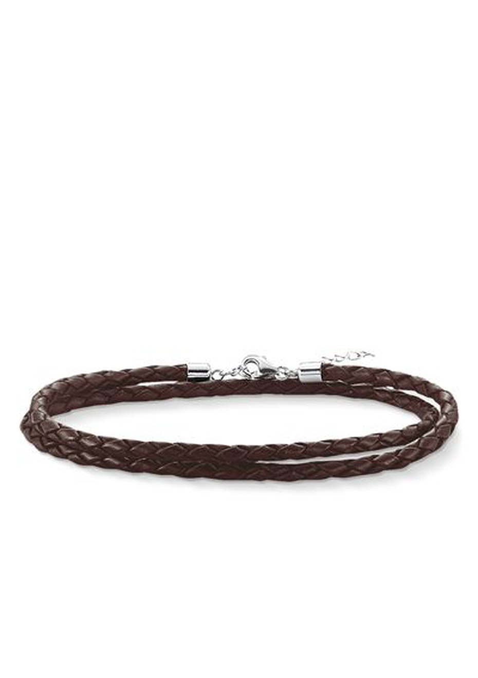 Thomas Sabo  - Charm Club - Brown Leather Necklace