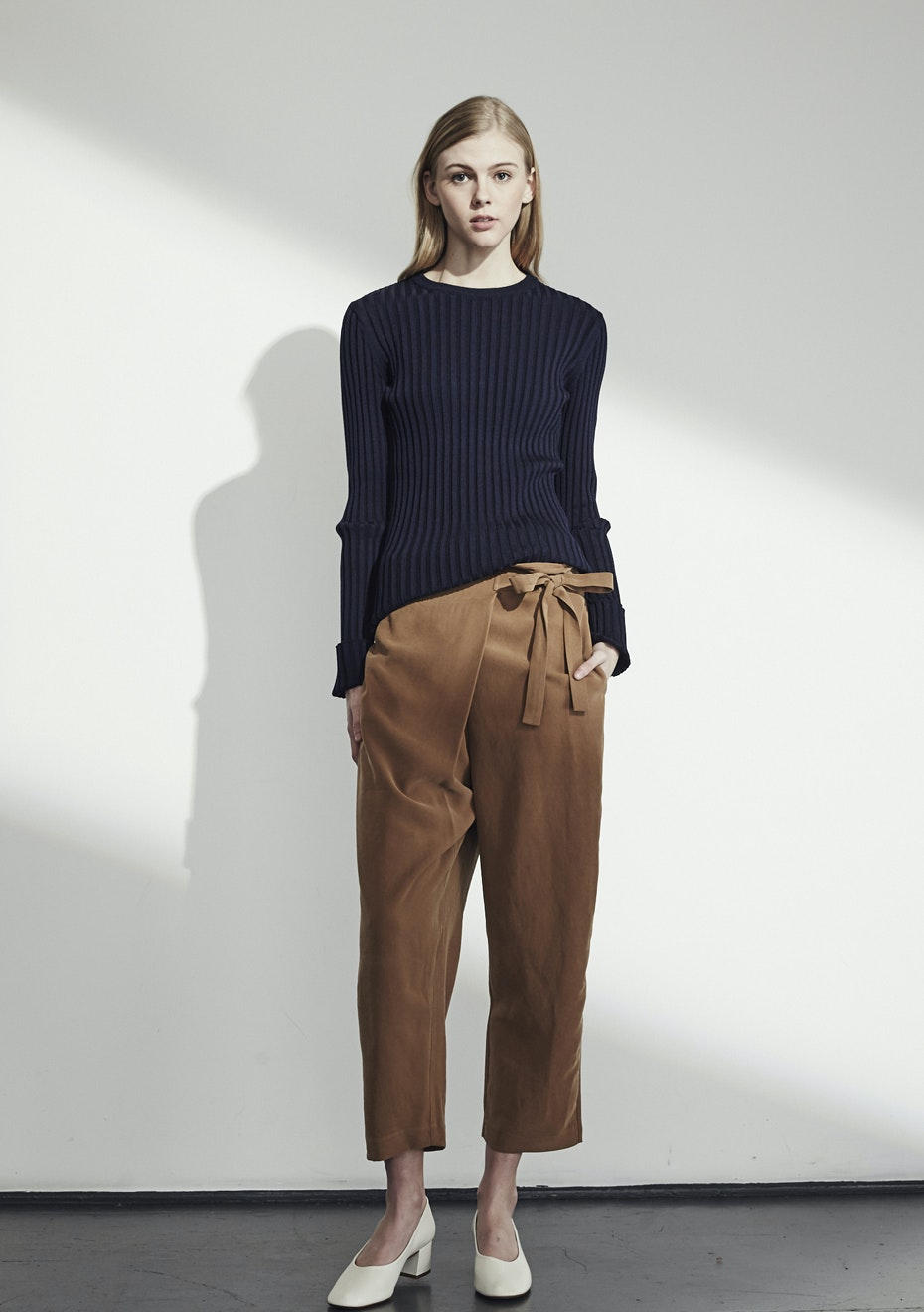 Achro - Wrap FrontTrousers - Camel