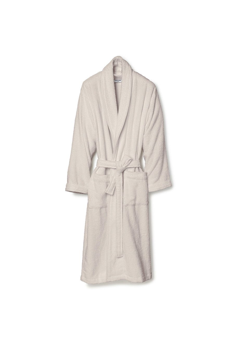 Canningvale - Medium Classic Cotton Terry Bathrobe - Natural
