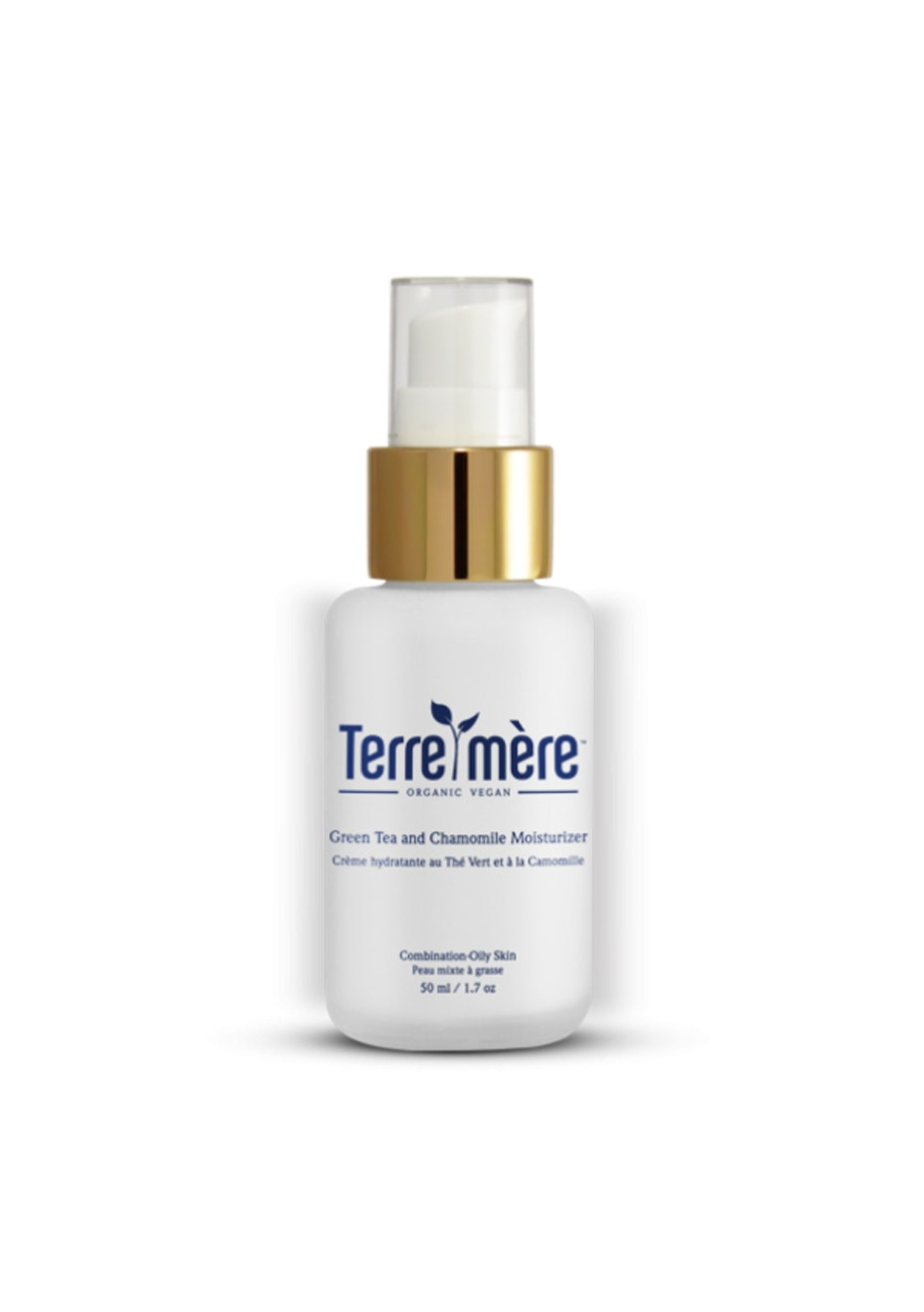 Terre Mere - Green Tea and Chamomile Moisturizer - Combination-Oily Skin