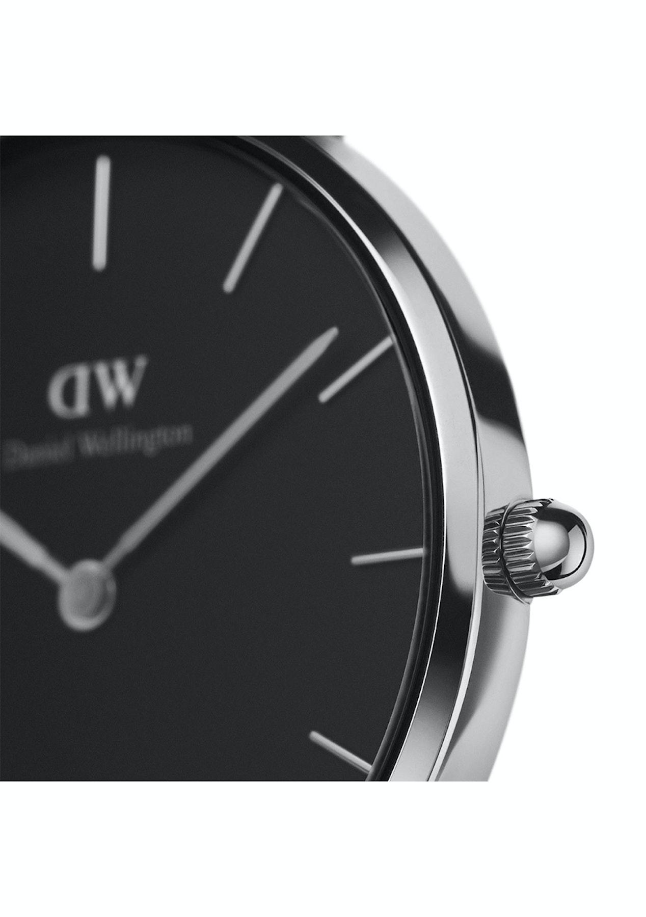 2c86615c6570 Daniel Wellington - St Mawes 36mm Classic Black Watch - Silver - Daniel  Wellington - 40% off - Onceit