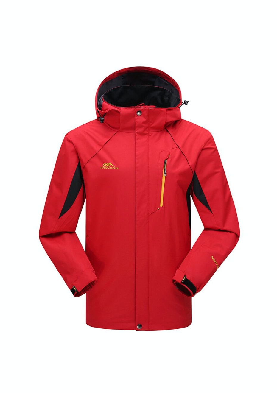 Men 2-in-1 WaterProof Jackets - Red / Black