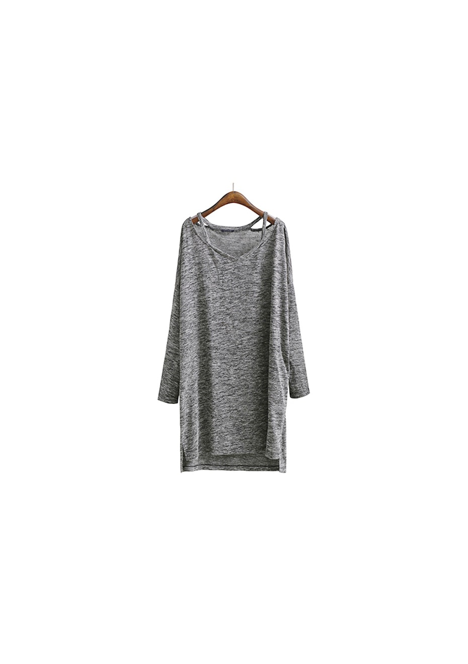 Gaia Knit Tunic - Dark Marle