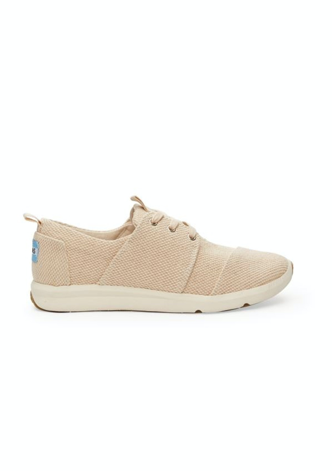 b57cf4fac57 Toms - Womens Natural Canvas Textured Del Ray Sneaker - Winter Escape -  Onceit