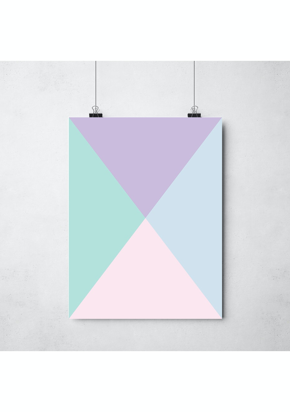 Simply Creative - Meet In The Middle - A3 Colour Print