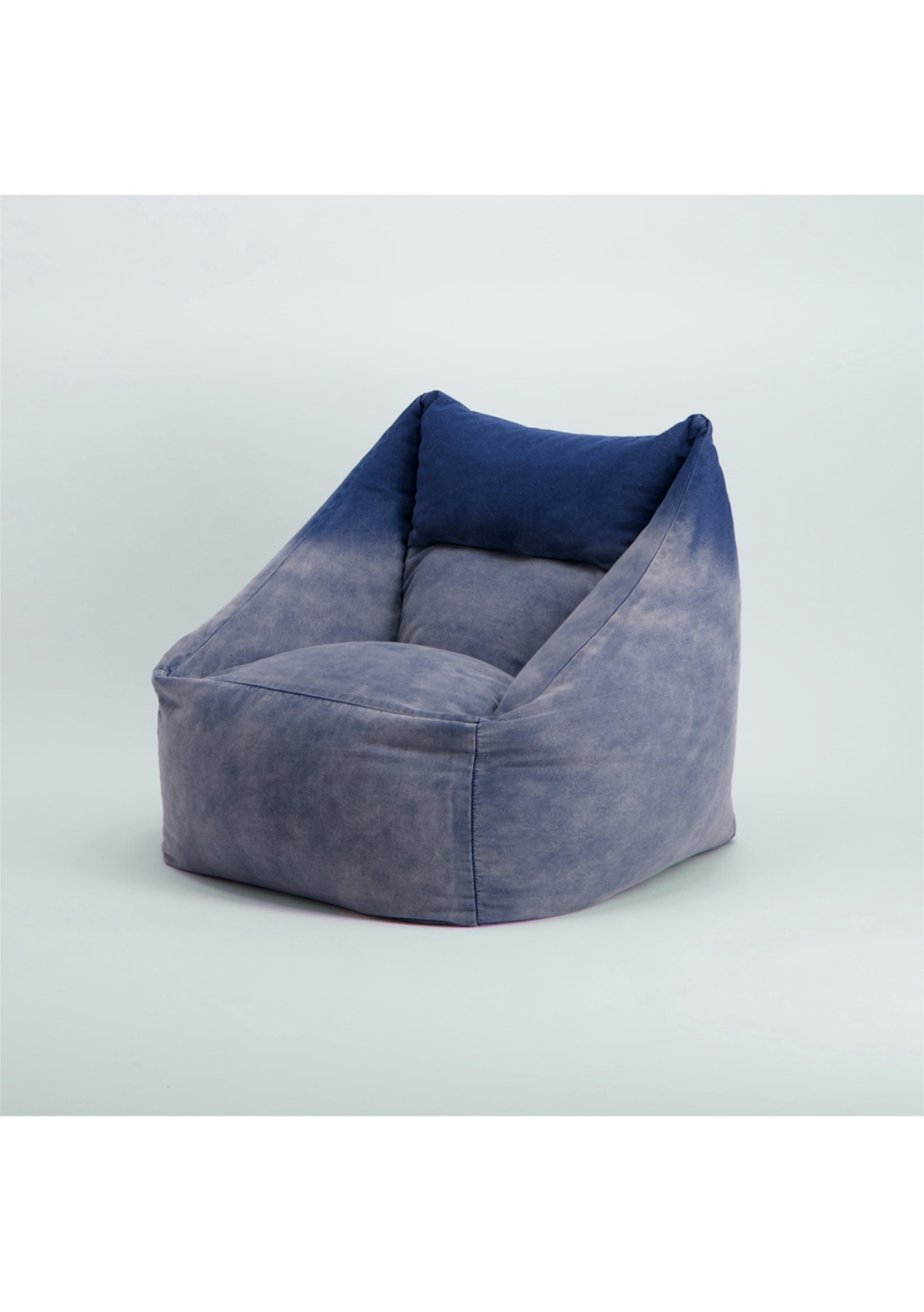 Croco  Classique Denim Bean Bag Chair  Denim