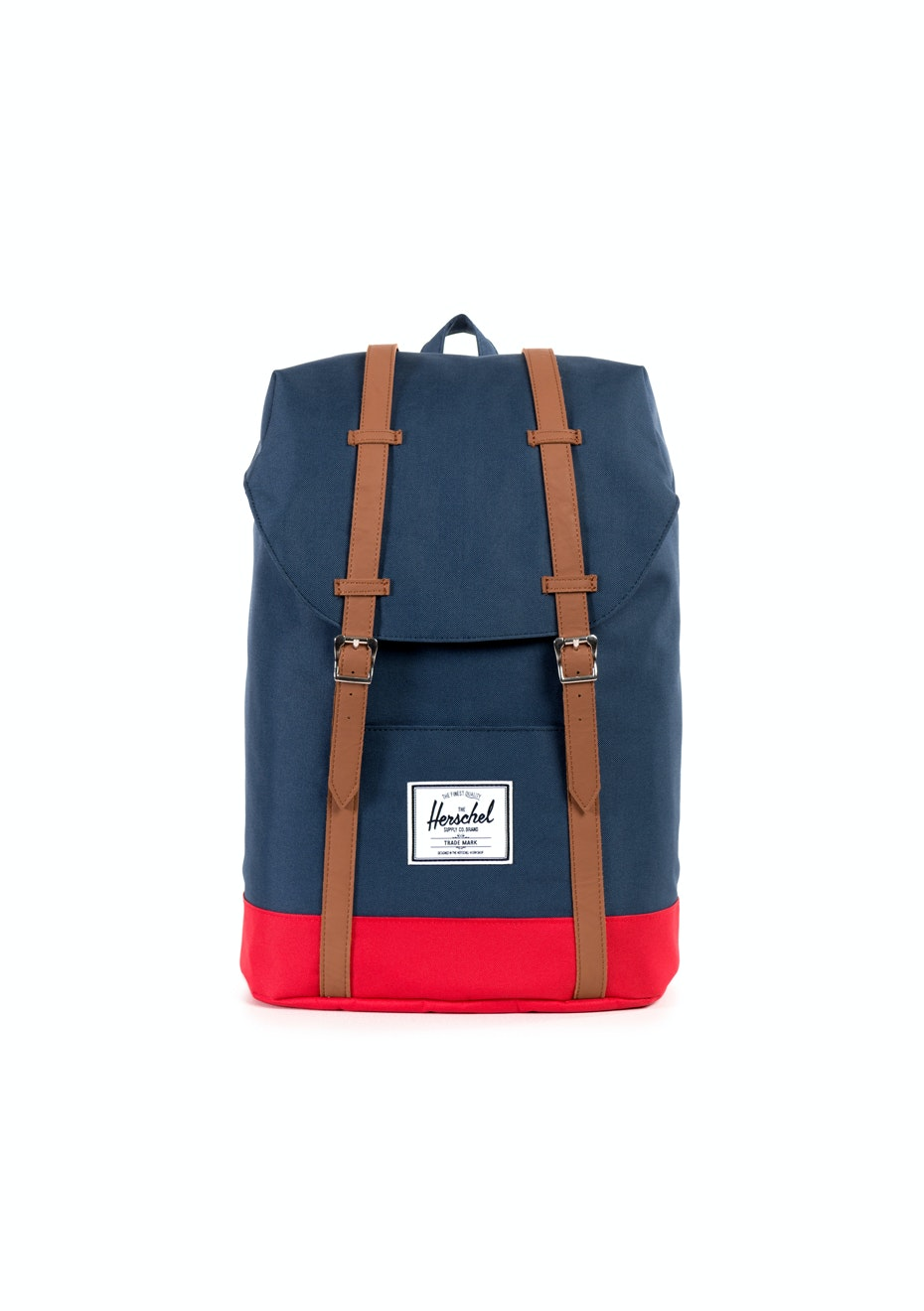 Herschel Supply Co - Retreat - Navy/Red/Tan Synthetic Leather