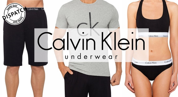 Image of the 'Calvin Klein Underwear' sale