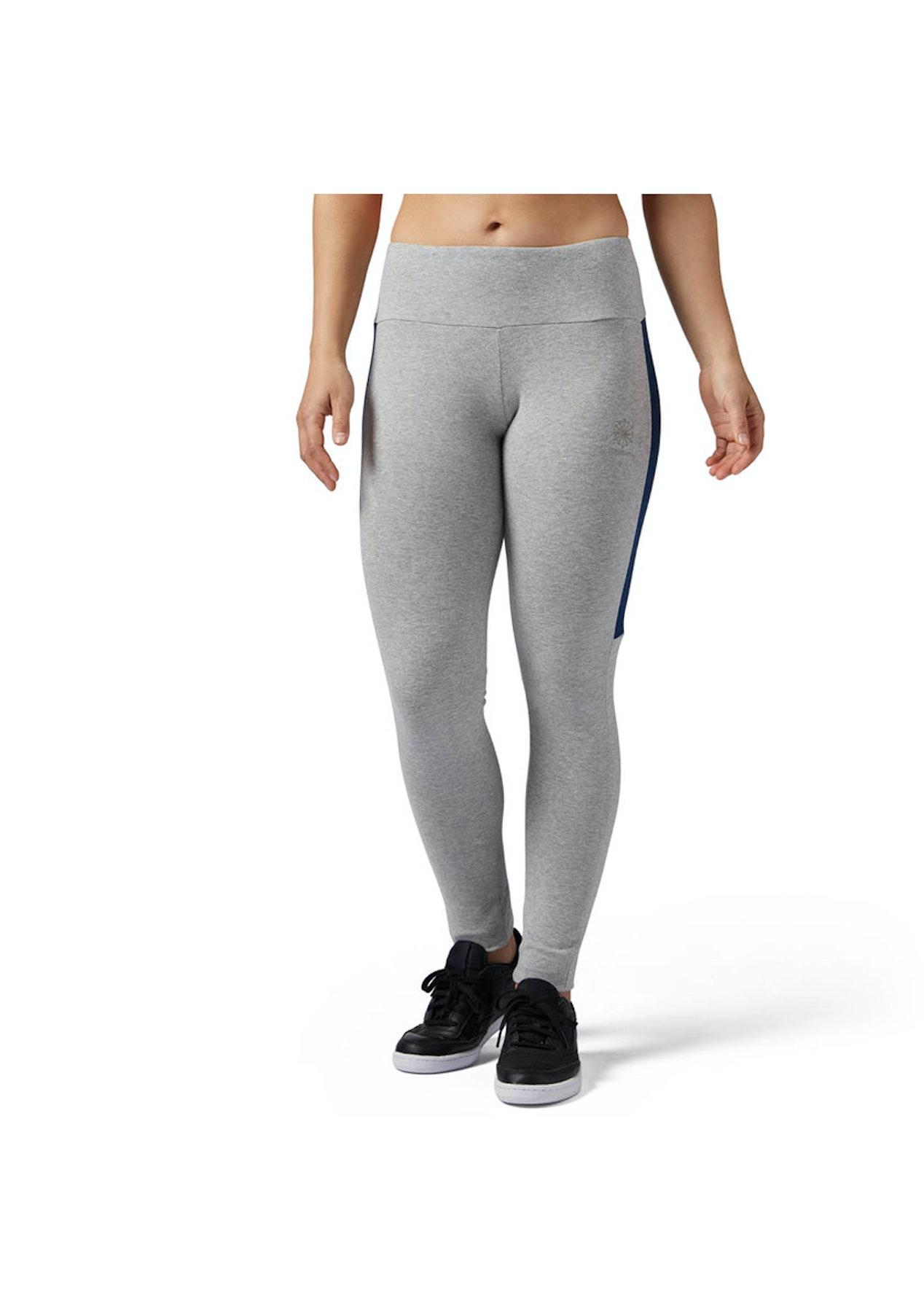 2e3e034ad13ff8 Reebok Womens - Classics Franchise Legging Grey - Womens Garage Sale -  Onceit