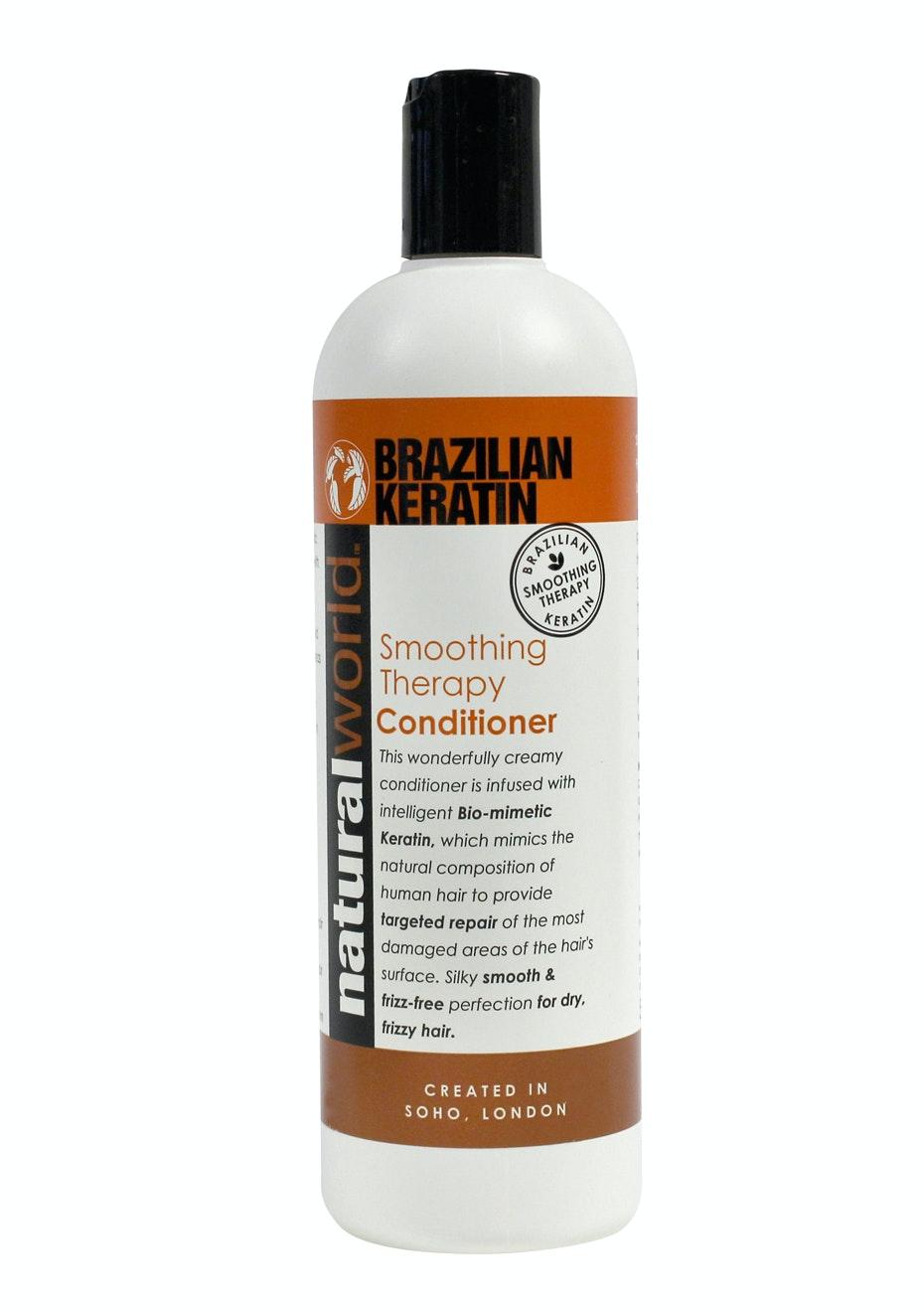 Natural World Brazilian Keratin Conditioner 500ml