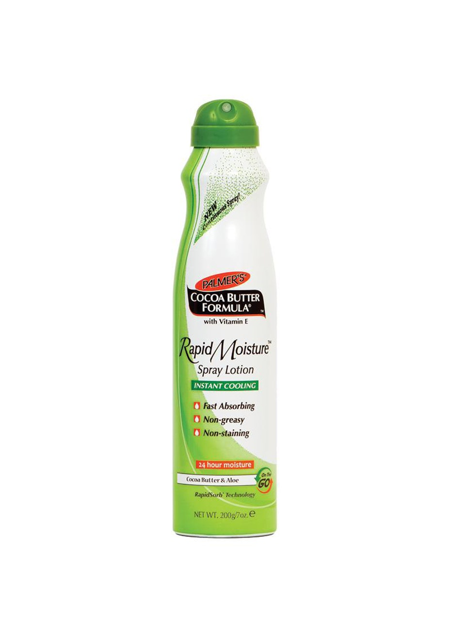 Palmers Cocoa Butter Formula & Aloe Rapid Moisture Spray Lotion 200g