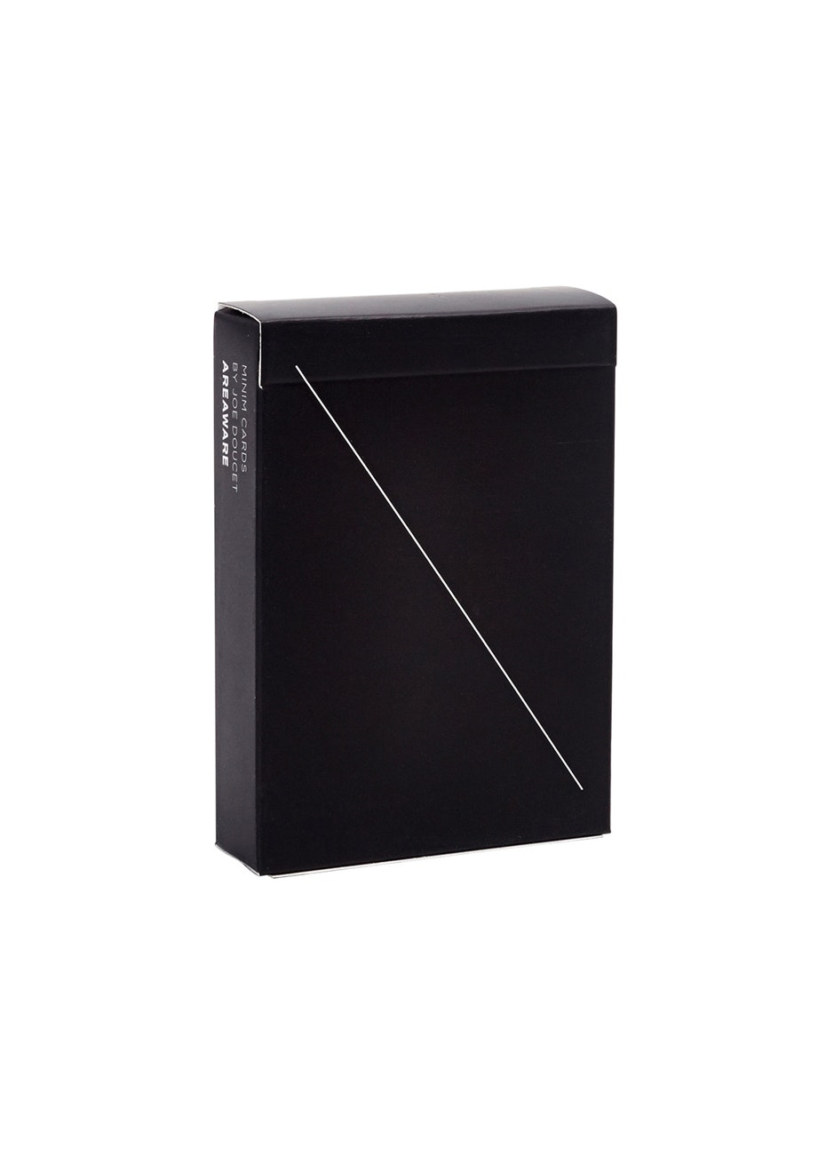 Areaware - Minim Playing Cards - Black