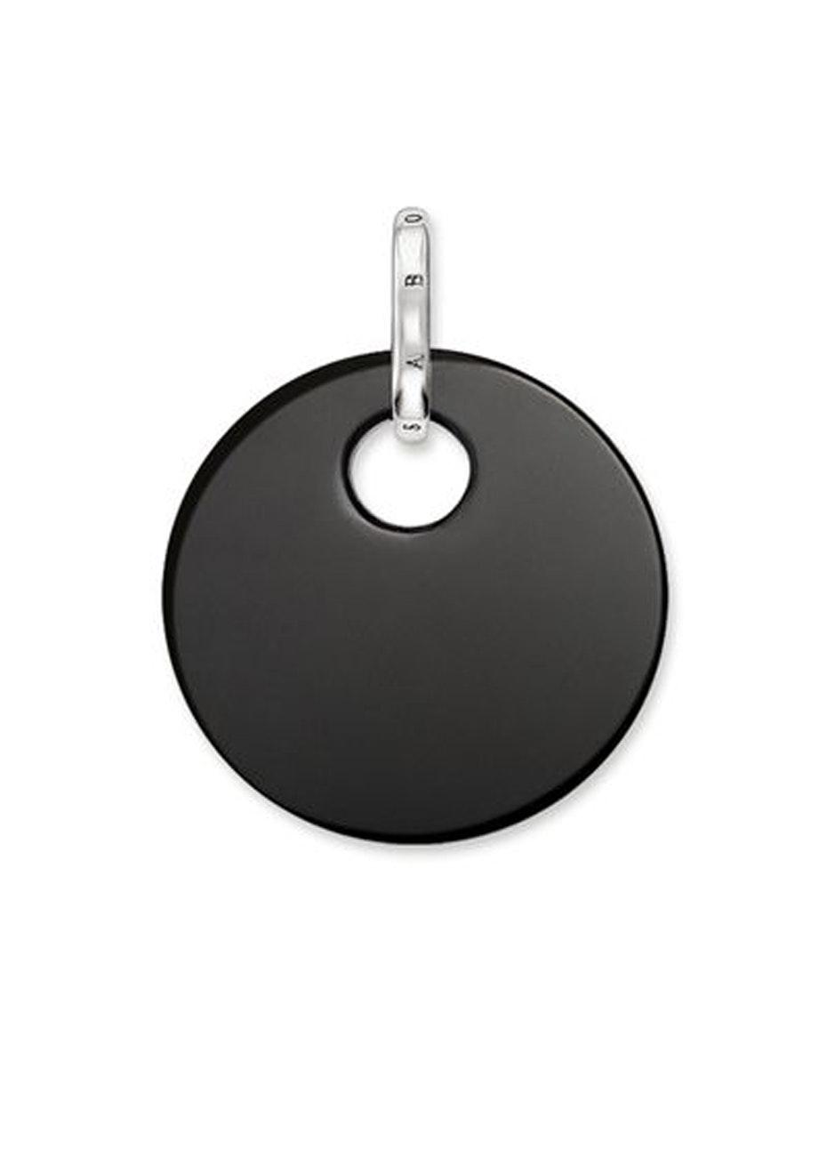 Thomas Sabo  - Onyx Disc Pendant